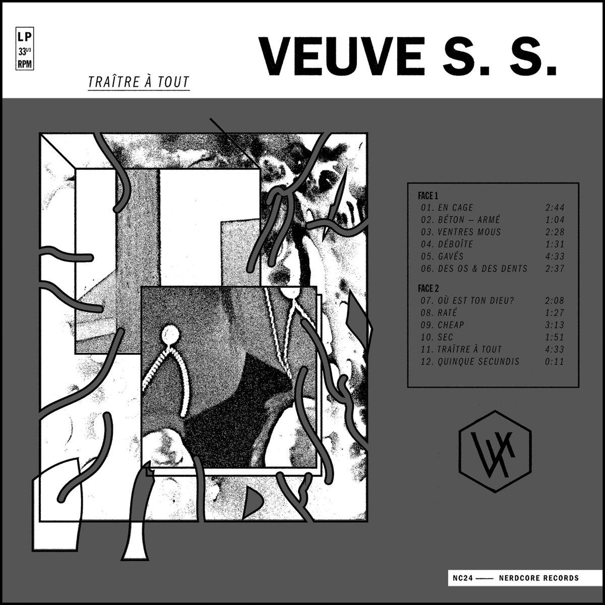 VEUVE S.S. Traitre A Tout – Vinyl LP (black)