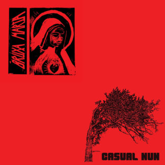 BRUXA MARIA / CASUAL NUN Split LP (black)