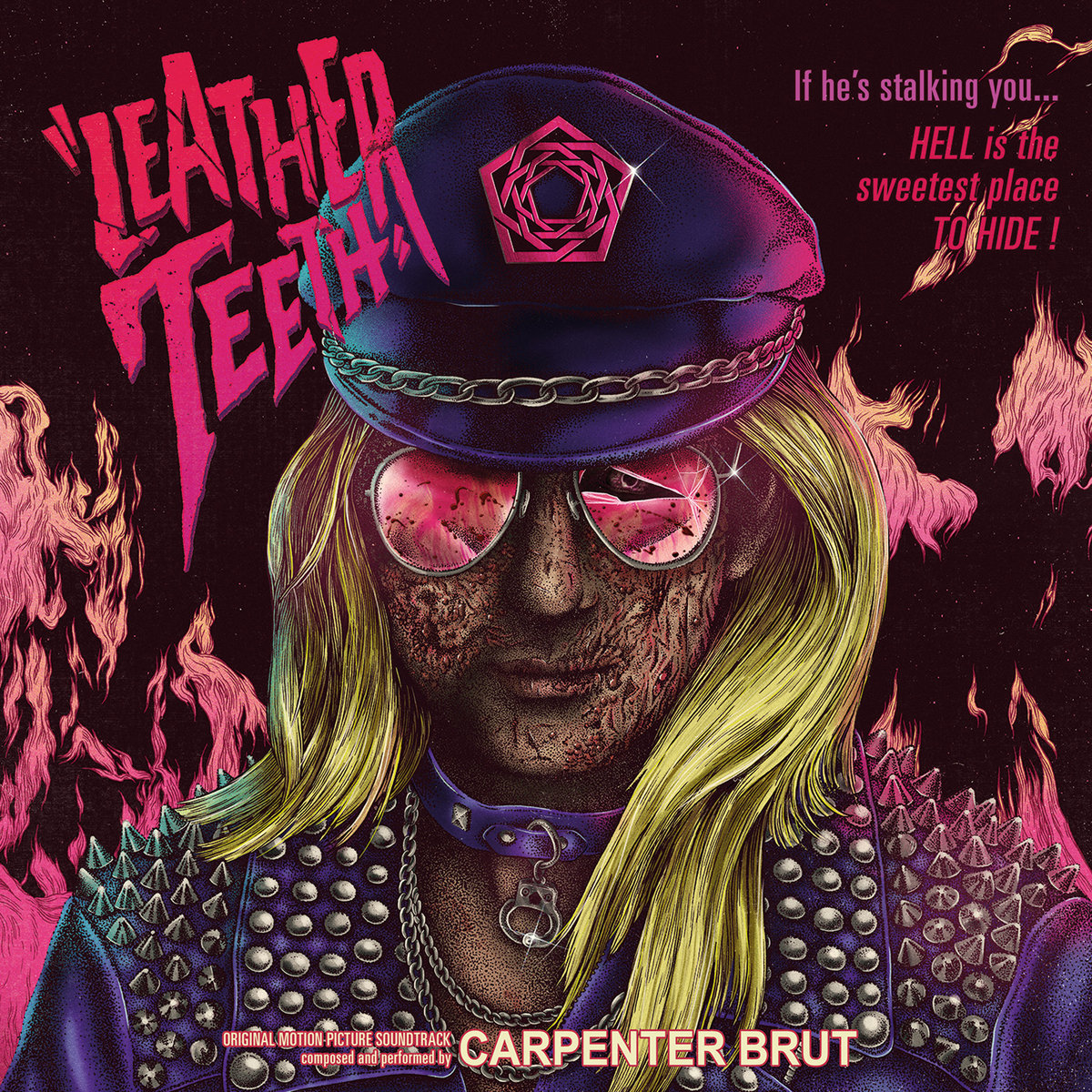 CARPENTER BRUT Leather Teeth – Vinyl LP (black) *Pre-order