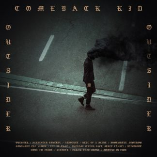 COMEBACK KID Outsider - Vinyl LP (clear with orange splatter | black)
