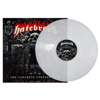 HATEBREED The concrete confessional - Vinyl LP (clear)