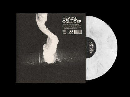 HEADS. Collider - Vinyl LP (white w/ black swirl)