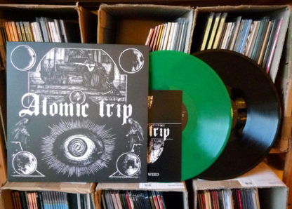 ATOMIC TRIP Strike #1 – Vinyl LP (uranium green | black)