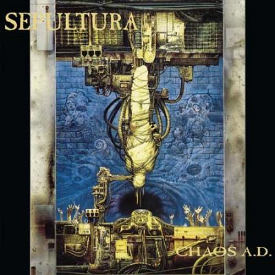 SEPULTURA Chaos A.D. - Vinyl 2xLP (black)