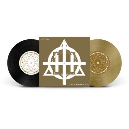 "ART OF BURNING WATER / STUNTMAN Split - Vinyl 7"" (gold | black)"