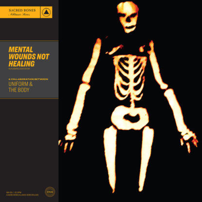 UNIFORM & THE BODY Mental Wounds Not Healing - Vinyl LP (clear | black)