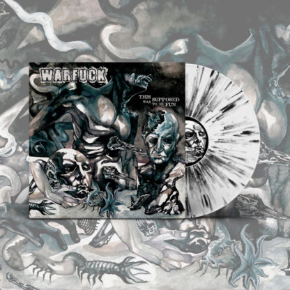 WARFUCK This Was Supposed To Be Fun - Vinyl LP (white with black splatter)