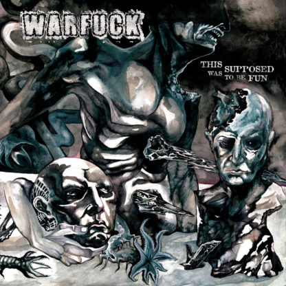 WARFUCK This Was Supposed To Be Fun - Vinyl LP (white with black splatter black) CD