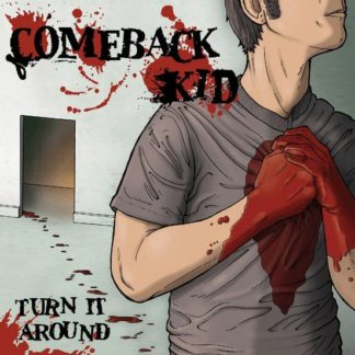 COMEBACK KID Turn It Around - Vinyl LP (clear with black smoke)