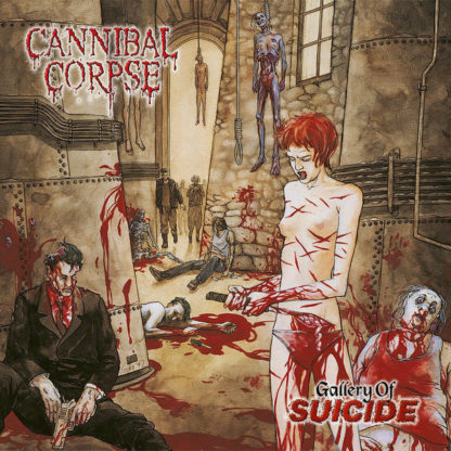 CANNIBAL CORPSE Gallery of Suicide - Vinyl LP (black)