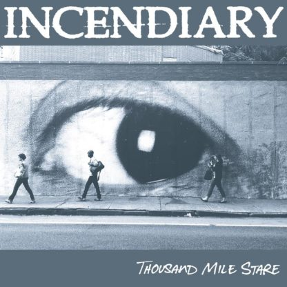 INCENDIARY Thousand Mile Stare - Vinyl LP (white in clear w/ black splatter)