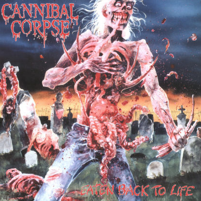 CANNIBAL CORPSE Eaten Back To Life - Vinyl LP (black)