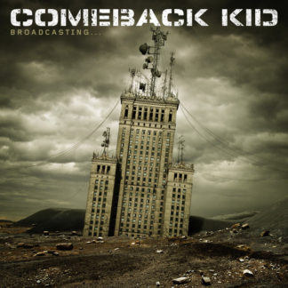 COMEBACK KID Broadcasting... - Vinyl LP (tan)