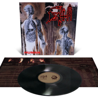DEATH Human - Vinyl LP (black)