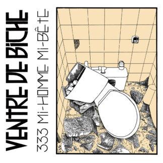 VENTRE DE BICHE 333, Mi Homme, Mi Bête - Vinyl LP (black)