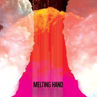 MELTING HAND Faces Of Earth - Vinyl LP (pink)