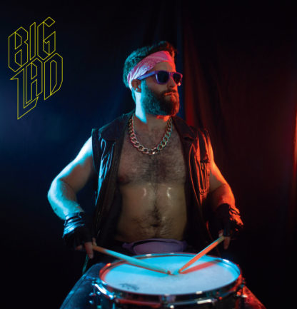 BIG LAD Pro-Rock - Vinyl LP (transparent yellow)