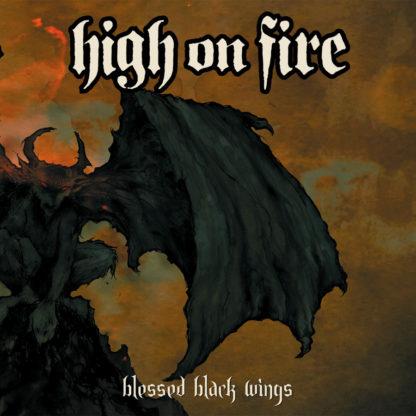 HIGH ON FIRE Blessed Black Wings - Vinyl 2xLP (swamp green)