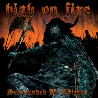 HIGH ON FIRE Surrounded by Thieves - Vinyl LP (sea blue splatter)
