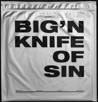 BIG'N Knife Of Sin - Vinyl LP (black)