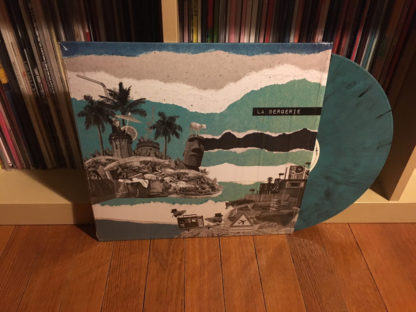 LA BERGERIE Transhumance - Vinyl LP (marble blue with black splatters)