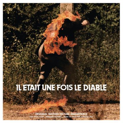 PAUL PIOT, MICHEL ROY Il Était Une Fois Le Diable - Vinyl LP (Red Flaming Transparent)