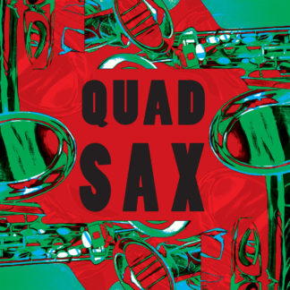 QUAD SAX S/t - Vinyl LP (green)