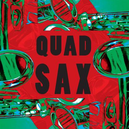 QUAD SAX S/t - Vinyl LP (green)