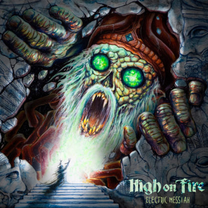 HIGH ON FIRE Electric Messiah - Vinyl 2xLP (transparent green with black swirl)