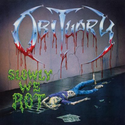 OBITUARY Slowly We Rot - Vinyl LP (solid yellow & transparent green mixed)
