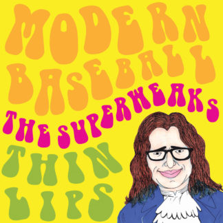 "MODERN BASEBALL THE SUPERWEAKS THIN LIPS Split - Vinyl 7"" (black)"