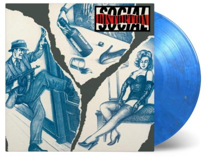 SOCIAL DISTORTION Social Distortion - Vinyl LP (blue and silver swirled)