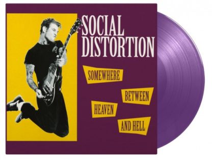 SOCIAL DISTORTION Somewhere Between Heaven and Hell - Vinyl LP (purple)