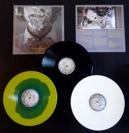 SOFY MAJOR Total Dump - Vinyl LP (white | blue in yellow | black)