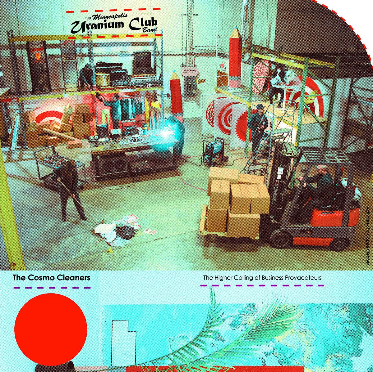 The Minneapolis Uranium Club The Cosmo Cleaners Vinyl Lp