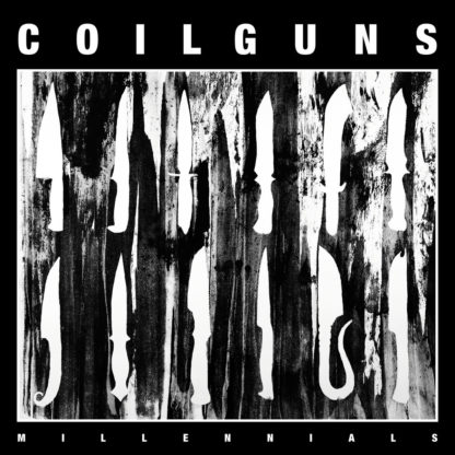 COILGUNS Millennials - Vinyl LP (transparent green)