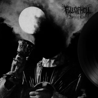 FULL OF HELL Weeping Choir - Vinyl LP (clear with black smoke & silver, gold , white splatter)