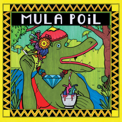 POIL / MULA Mula Poil split - Vinyl LP (black)