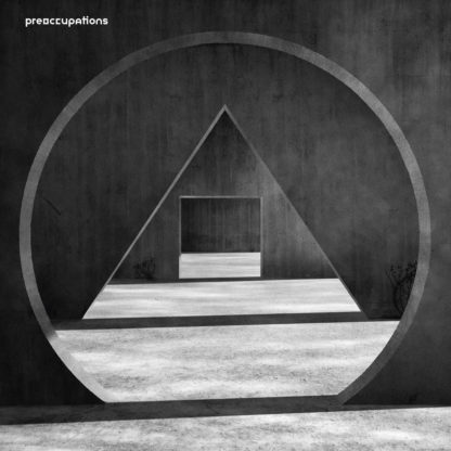 PREOCCUPATIONS New Material - Vinyl LP (grey streak)