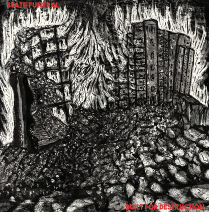 "STATE FUNERAL Built For Destruction - Vinyl 7"" (red)"