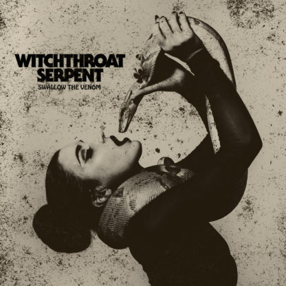 WITCHTHROAT SERPENT Swallow The Venom - Vinyl 2xLP (clear with grey splatter)