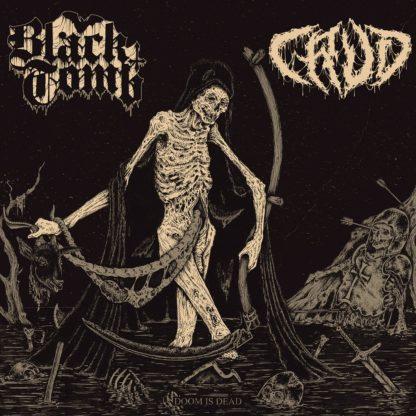 BLACK TOMB / CRUD Doom Is Dead - Vinyl LP (bone white)