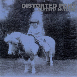 DISTORTED PONY Instant Winner - Vinyl LP (blue with white splatter)