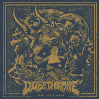 DOPETHRONE Hochelaga - Vinyl LP (clear blue with black marble)