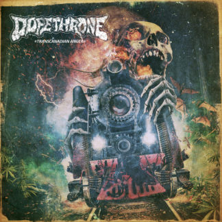 DOPETHRONE Transcanadian Anger - Vinyl LP (clear yellow & grey marble)