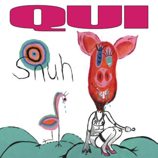 QUI Snuh - Vinyl LP (black) + CD