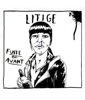 LITIGE Fuite en avant - Vinyl LP (black)