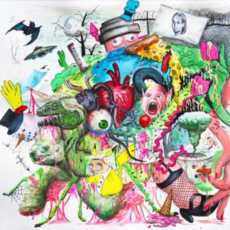 TROPICAL FUCK STORM Braindrops - Vinyl LP (magenta)