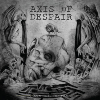 AXIS OF DESPAIR Contempt For Man - Vinyl LP (black)