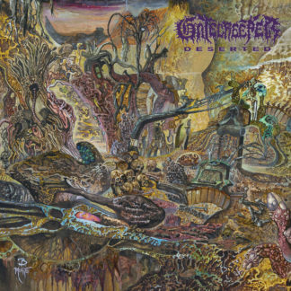 GATECREEPER Deserted - Vinyl LP (neon violet with metallic gold splatter)